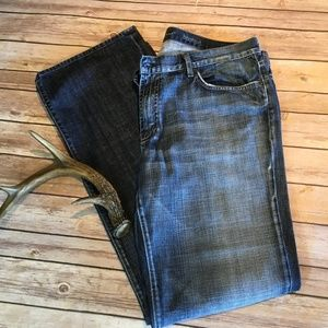 7 For All Mankind Jeans - 7FAM Modern Bootcut; 38/34